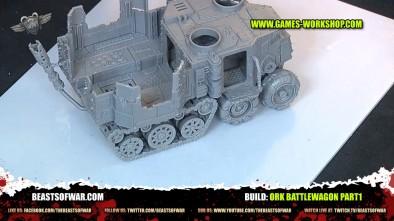 Build: Ork Battlewagon Part1