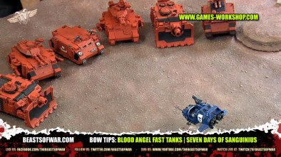BOW Tips: Blood Angel Fast Tanks | Seven Days of Sanguinius