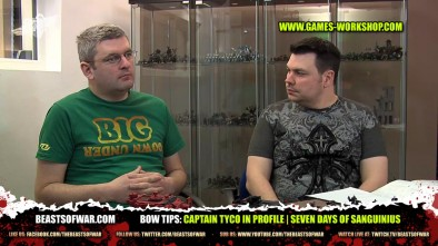 BOW Tips: Captain Tyco In Profile | Seven Days of Sanguinius