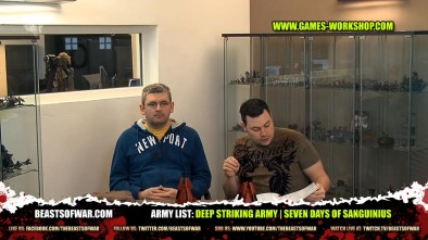Army List: Deep Striking Army | Seven Days of Sanguinius