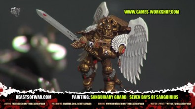 Painting: Sanguinary Guard | Seven Days of Sanguinius