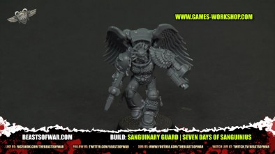 Build: Sanguinary Guard | Seven Days of Sanguinius