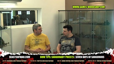 BOW Tips: Sanguinary Priests   Seven Days of Sanguinius