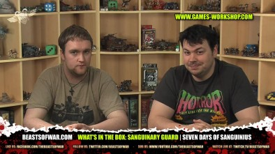 What's In The Box: Sanguinary Guard | Seven Days of Sanguinius