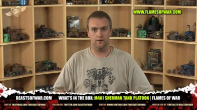 What's In The Box: M4A1 Sherman Tank Platoon   Flames of War