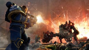 Space Marine First Person Shooter Screenshot 1