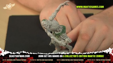John get his hands on a Collector's Edition Mantic Zombie