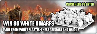 Win an Army of White Dwarfs