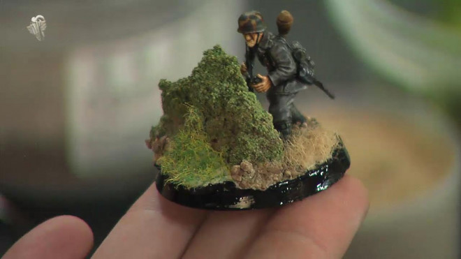 How to go about painting a WW2 German Infantryman