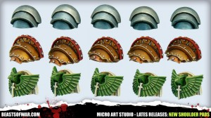 Micro Art Studio - New Shoulder Pads