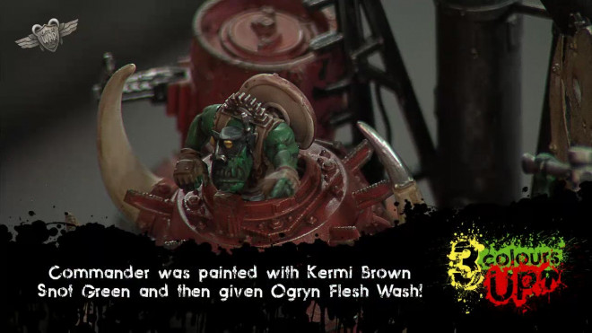 40K Ork Stompa Painting Tutorial – Part 2