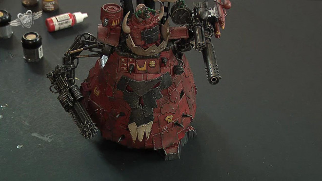 40K Ork Stompa Painting Tutorial – Part 3