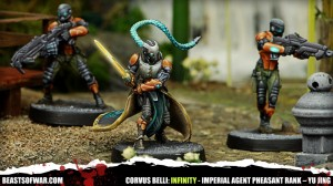 Imperial Agent Pheasant Rank – Imperial Service – YU JING
