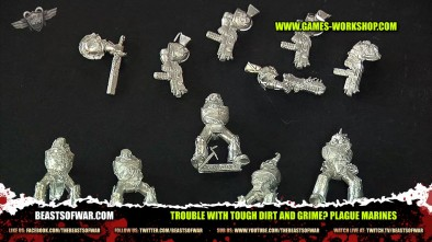 Trouble with Tough Dirt and Grime? Plague Marines