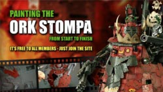 40K Ork Stompa Painting Tutorial – and you could WIN one!