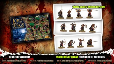 Warriors of Harad From Lord of the Rings