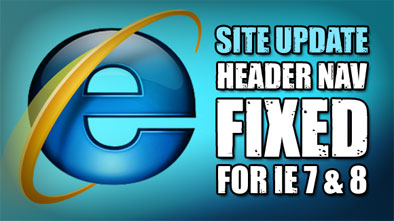 IE Header Problems Fixed