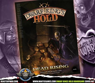 Dwarf Kings Hold Boardgame Cover Art