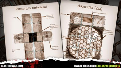 Dwarf Kings Hold Exclusive Concepts