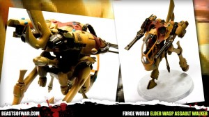 Forge World Elder Wasp Assault Walker