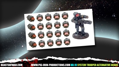 Pig Iron System Trooper Alternative Heads