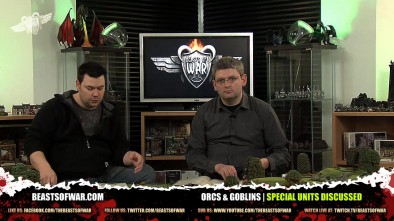 Orcs & Goblins Special Units Discussed