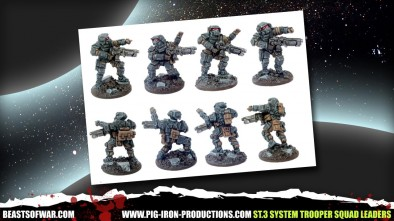 Pig Iron System Trooper Squad Leaders