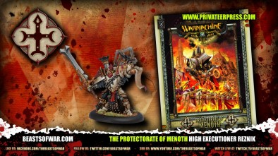 The Protectorate of Menoth High Executioner Reznik