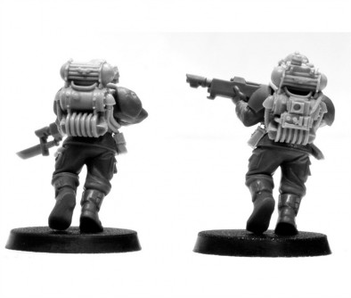 CADIAN HOSTILE ENVIRONMENT TROOPS CONVERSION SET
