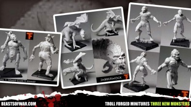 troll forged minitures three new monsters