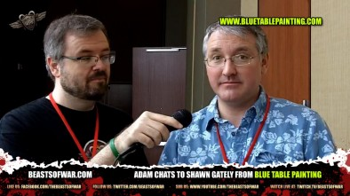 Adam chats to Shawn Gately from Blue Table Painting