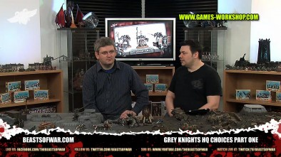 Grey Knights HQ Choices Part One