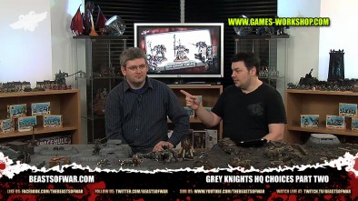 Grey Knights HQ Choices Part Two