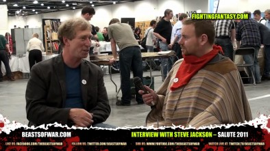 Interview with Steve Jackson – Salute 2011