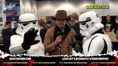 Lloyd get's detained by stormtroopers