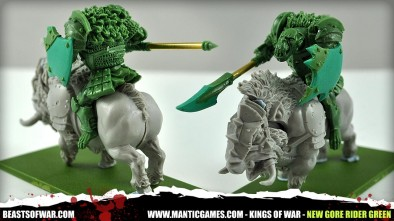 New Gore Rider Green from Mantic