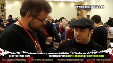 Privateer Press Battle Engines at Adepticon 2011
