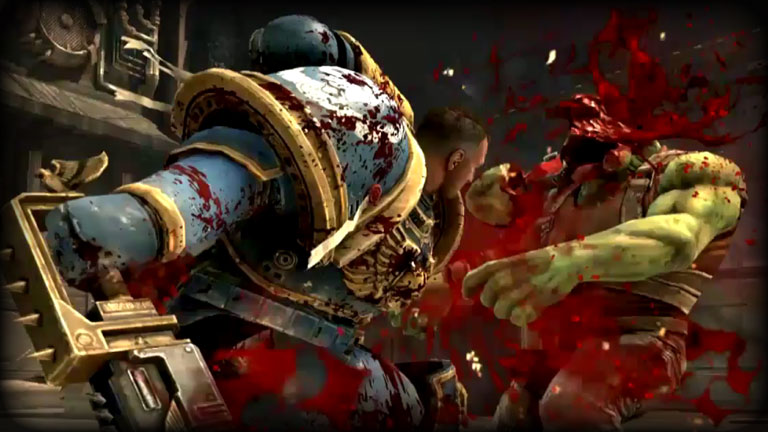Latest Space Marine Bone Shattering Footage Beasts Of War