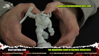 The Wardemon From Ultraforge Miniatures