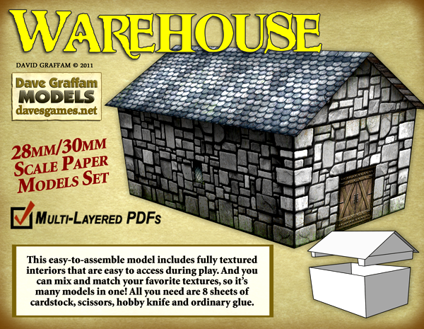 New Paper Terrain from Dave Graffam Models – OnTableTop – Home of