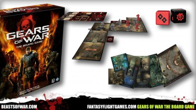 Gears of War The Board Game Tiles