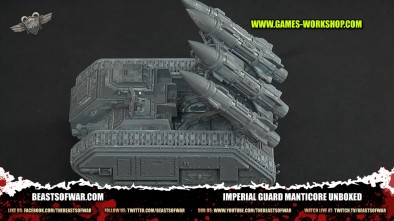 Imperial Guard Manticore Unboxed