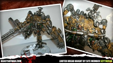 Looted Dread Knight by Site Member Scythican