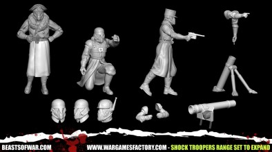 Shock Troopers Range Set to Expand