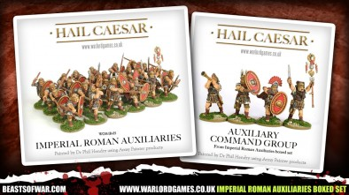 Warlord Imperial Roman Auxiliaries Boxed Set