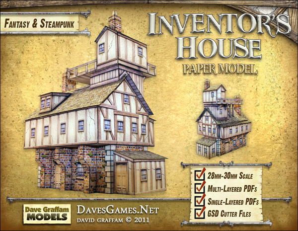 New Steampunk Models from Dave Graffam – OnTableTop – Home of Beasts