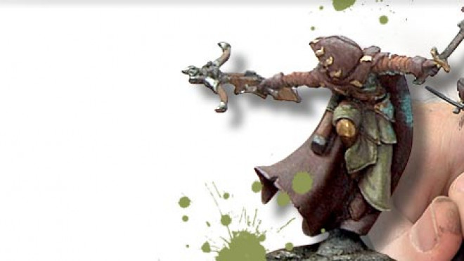 Painting a Mage Hunter Commander Part Two