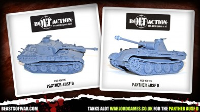 Warlord Panther Ausf D for Bolt Action