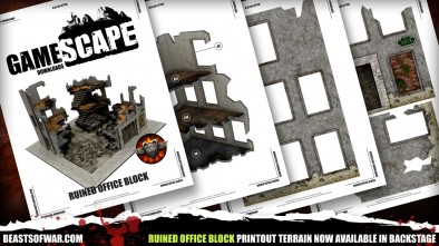 GameScape Download: Ruined Office Block