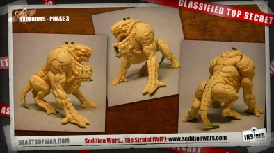 Sedition Wars The Strain: Exoforms - Phase 3 (more images in the video)